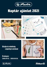 Naptár ajánlat 2021